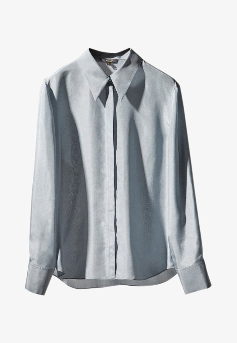 Massimo Dutti - Button-down blouse - blue