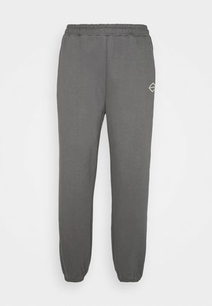 LOGOCOLLAGEPANTS - Teplákové kalhoty - shadowgrey