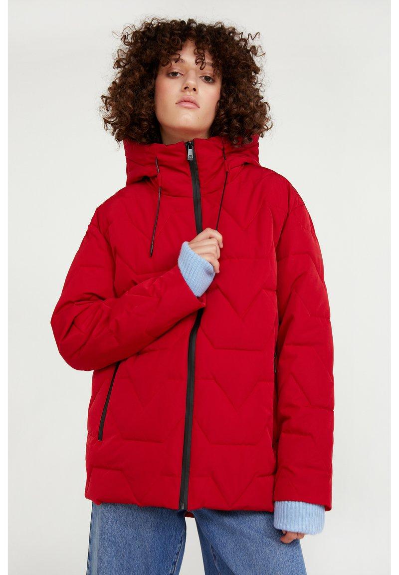Finn Flare - Winter jacket - red