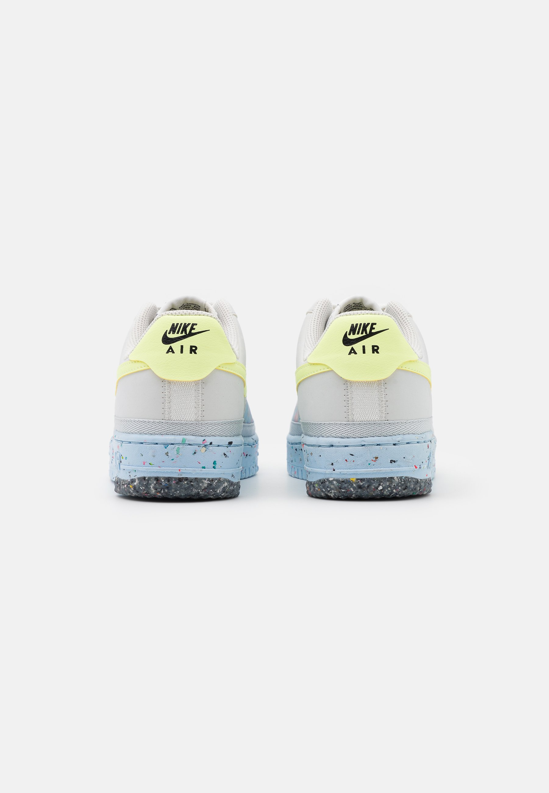 Nike Sportswear Air Force 1 Crater - Joggesko Pure Platinum/barely Volt/summit White/chambray Blue/black/grå