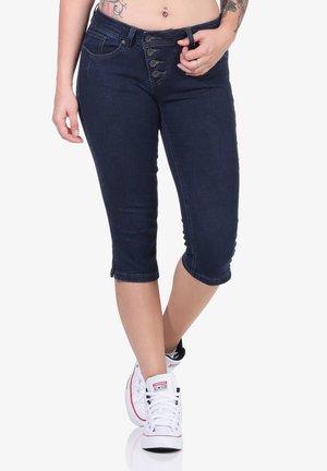 MALIBU - Denim shorts - raw blue