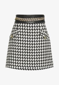 River Island - Minijupe - black/white - 0