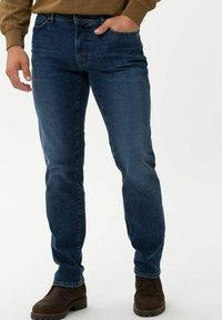 BRAX - STYLE CADIZ - Jeans a sigaretta - dark blue - 0