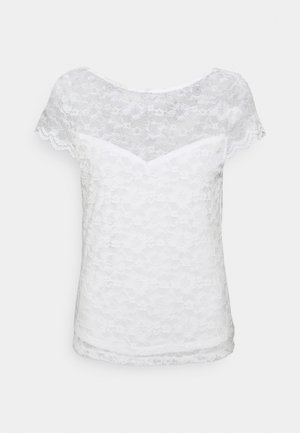 VIKALILA CAPSLEEVE - T-shirts med print - cloud dancer