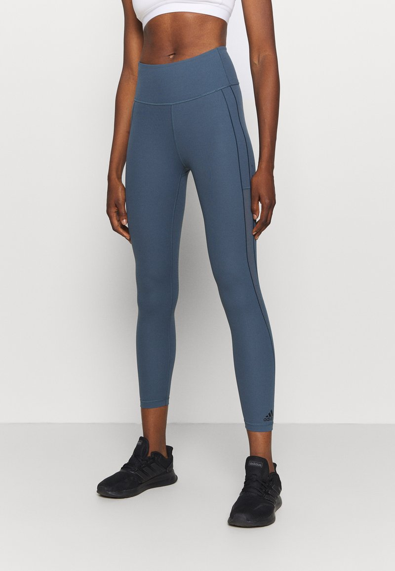 adidas Performance - ASK 7/8 T H.RDY - Tights - blue