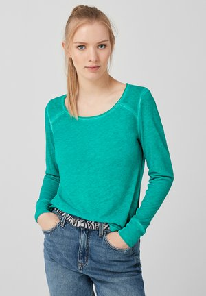 COLD  - Long sleeved top - garden green