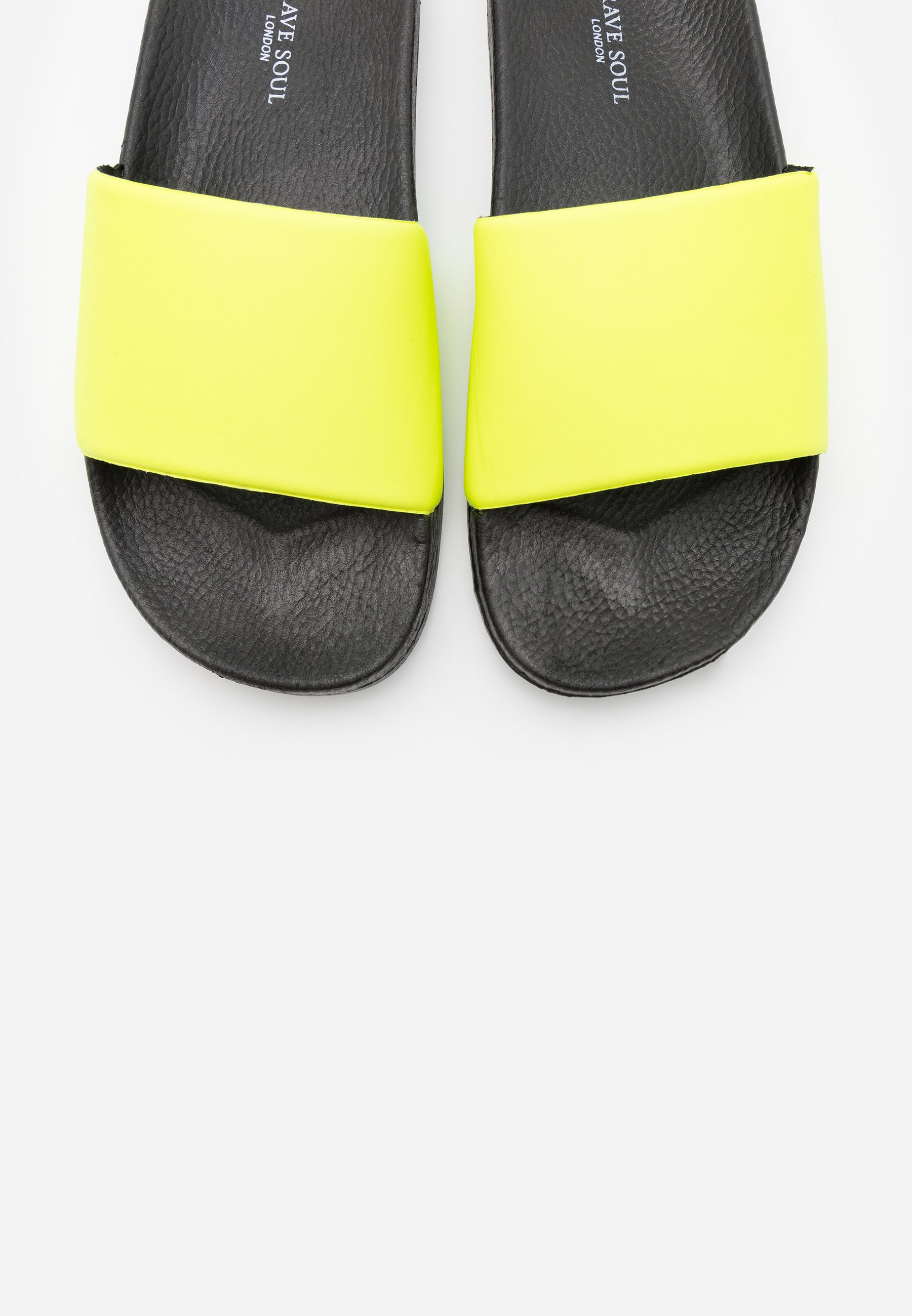 Brave Soul Cairo - Sandaler Neon Yellow