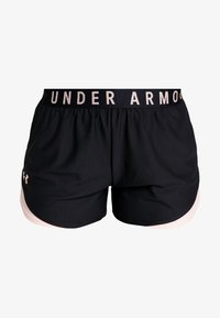 Under Armour - PLAY UP SHORTS 3.0 - Korte broeken - black/calla - 3