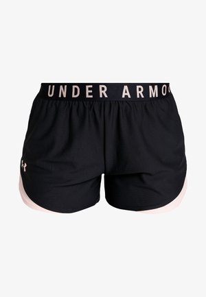 PLAY UP SHORT - Sports shorts - black/calla