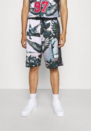 PHOTO - Shorts - black/white
