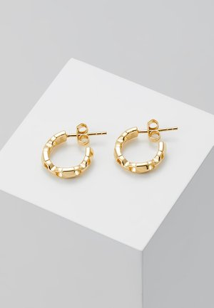 PREMIUM - Earrings - gold-coloured