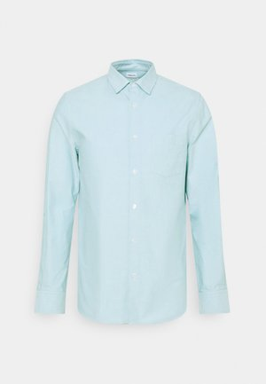 TIM OXFORD - Shirt - turquoise/white