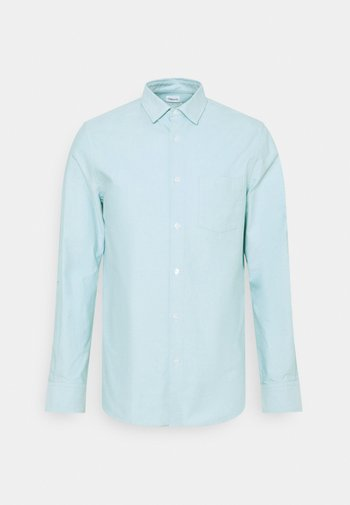 TIM OXFORD - Chemise - turquoise/white