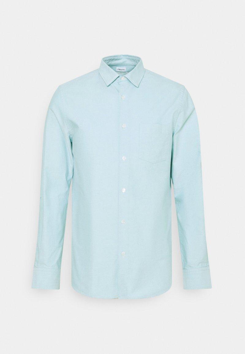Filippa K - TIM OXFORD - Košile - turquoise/white