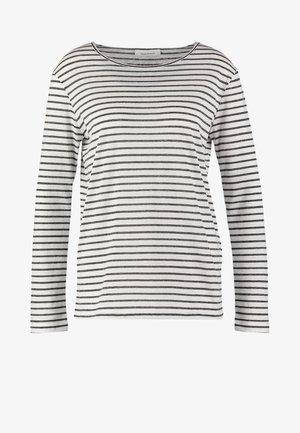 NOBEL STRIPE - Long sleeved top - black stripe