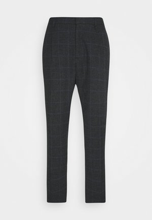 CARROT PANT RALPH - Broek - dark grey melange