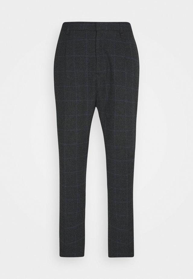 CARROT PANT RALPH - Trousers - dark grey melange