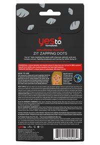 Yes To - YES TO TOMATOES CHARCOAL ZIT ZAPPING DOTS - Face mask - - - 1