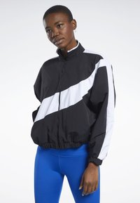 Reebok - MEET YOU THERE JACKET - Training jacket - black - 0