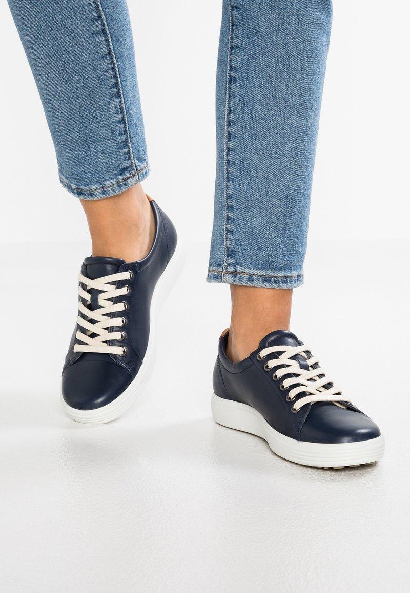 ECCO - SOFT - Sneakers laag - marine