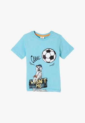 T-shirt print - aqua