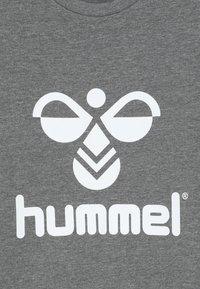 Hummel - DOS UNISEX - Sweatshirts - medium melange - 4