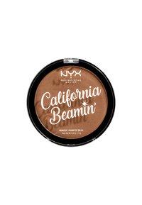 Nyx Professional Makeup - CALIFORNIA BEAMIN´ FACE & BODY BRONZER - Bronzer - 3 sunset vibes - 1
