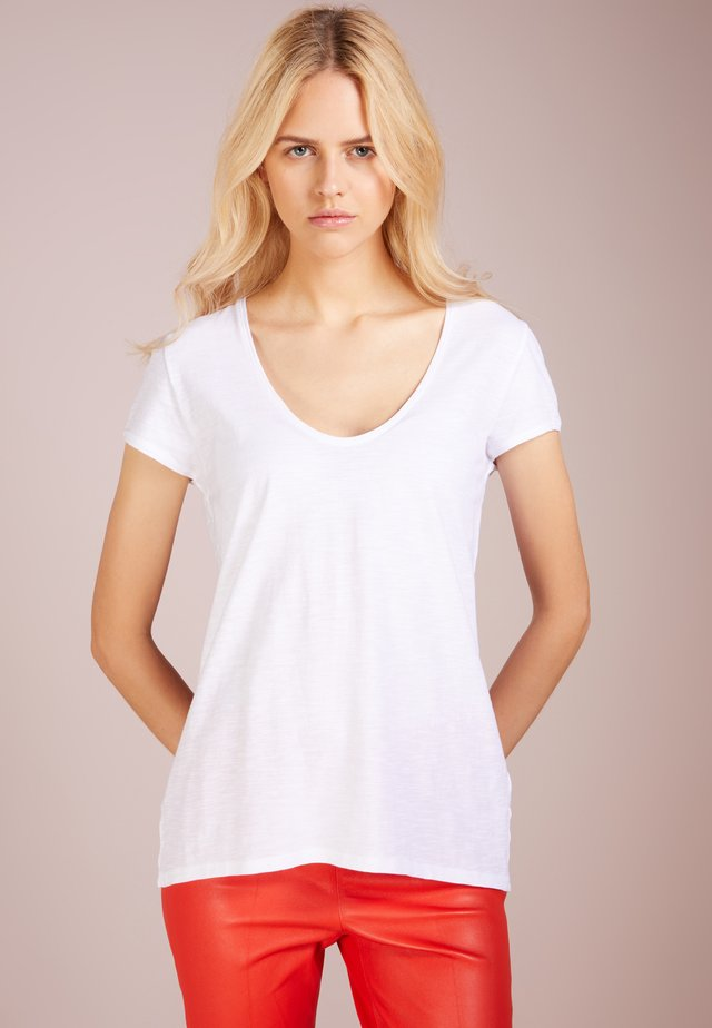 AVIVI - Basic T-shirt - white