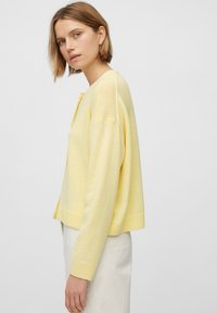 Marc O'Polo - ROUND NECK - Cardigan - bleached sun - 4
