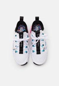 Nike Performance - FREE METCON 3 - Sports shoes - white/baltic blue/pink blast/black - 3