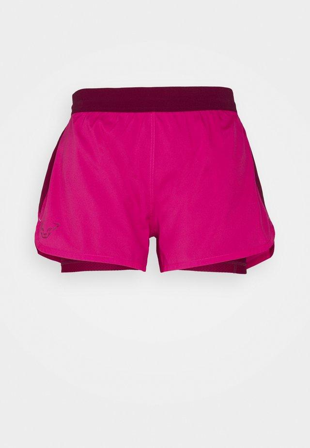 ALPINE PRO - Pantalón corto de deporte - flamingo