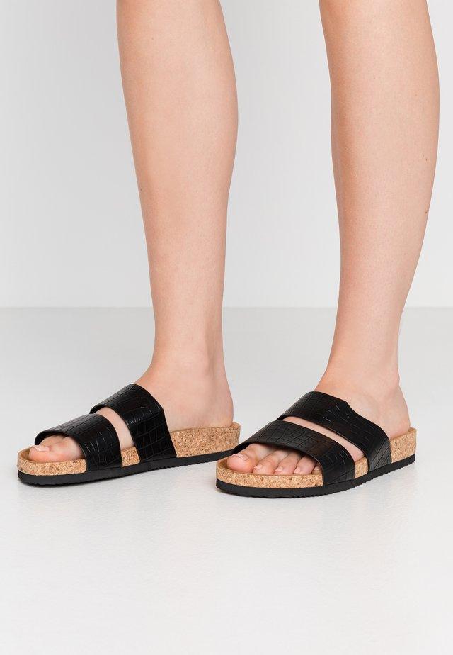 LIZA - Pantoffels - black