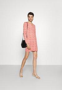 Diane von Furstenberg - REINA DRESS - Jersey dress - red - 1