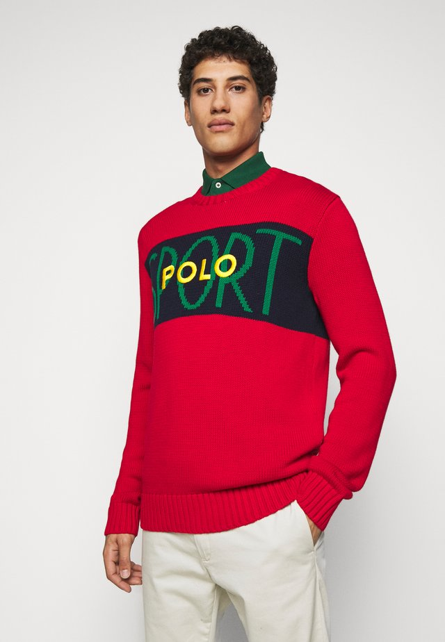 SHAKER - Pullover - red