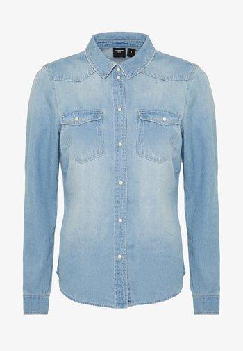 VMMARIA SLIM  - Košile - light blue denim/birch