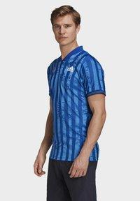 adidas Performance - Print T-shirt - blue - 2