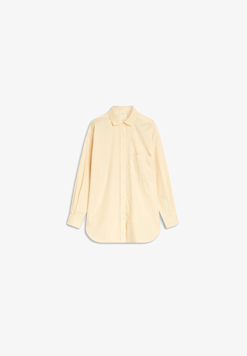 CLOSED - Button-down blouse - beige