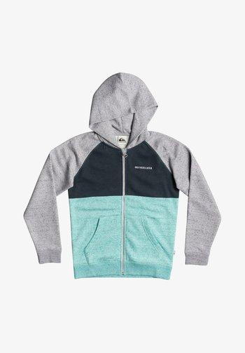 Zip-up hoodie - cabbage heather