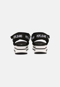 Pepe Jeans - FUJI - Sandály na platformě - black - 3