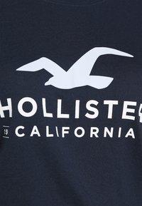 Hollister Co. - Print T-shirt - navy - 5