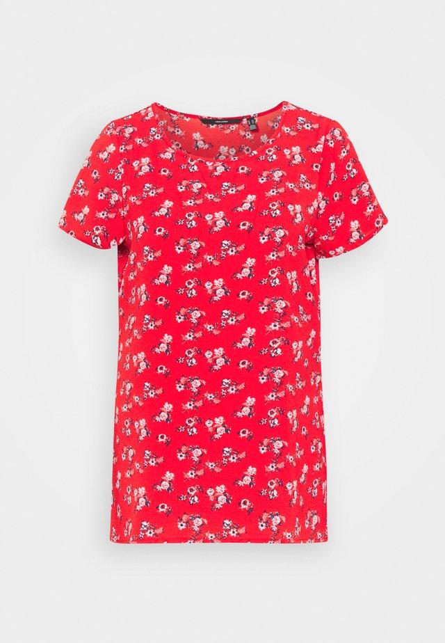 VMSAGA - Basic T-shirt - goji berry