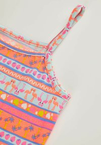 DeFacto - SUMMER - Jersey dress - pink/white - 2