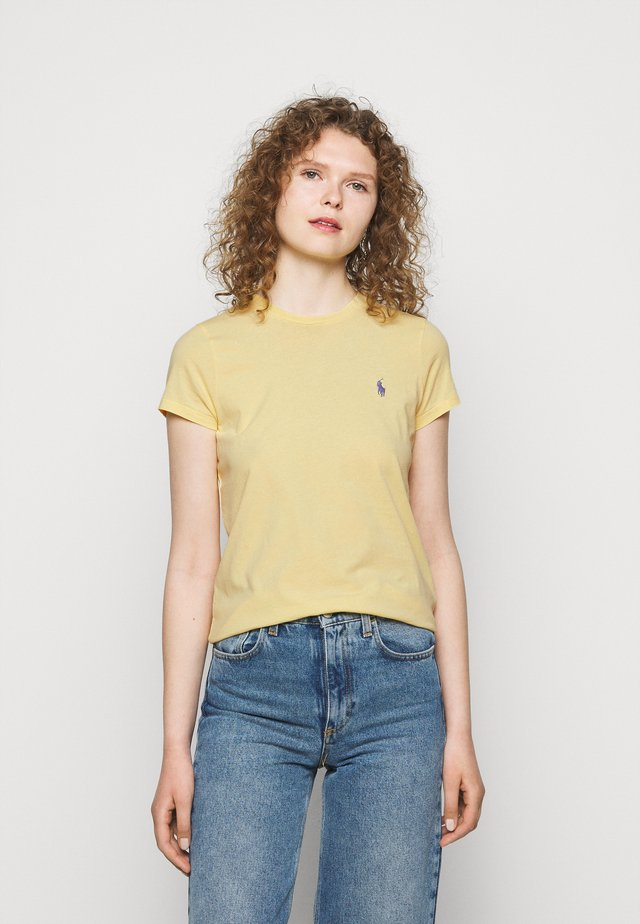 T-shirt basique - wicket yellow