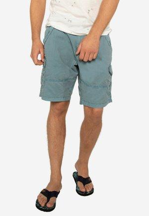 PACKWOOD - Shorts - washed blue