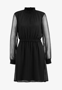 Pieces - PCAMALIE DRESS - Sukienka letnia - black - 4