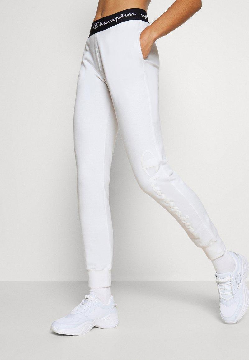 Champion - CUFF PANTS LEGACY - Tracksuit bottoms - white