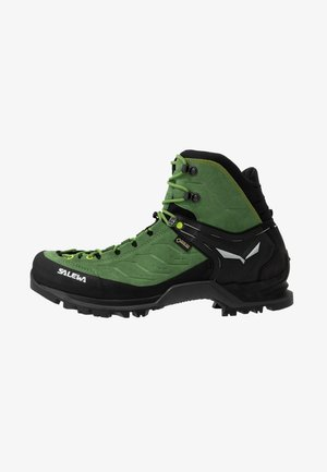 MTN TRAINER MID GTX - Mountain shoes - myrtle/fluo green