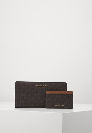 CARD CARRYALL SET - Geldbörse - brown