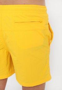 Urban Classics - BLOCK SWIM - Shorts da mare - chrome yellow - 1