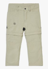 Color Kids - TIGGO ZIP OFF PANTS - Outdoor trousers - seagrass - 0